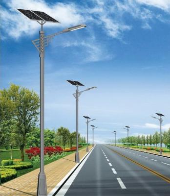 安装农村太阳能路灯