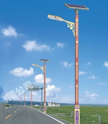 农村太阳能路灯LED