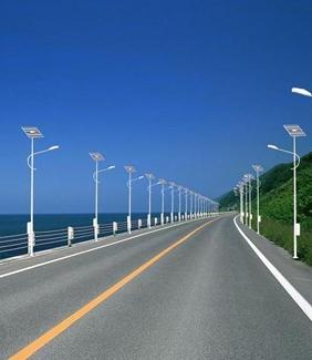 LED农村太阳能路灯