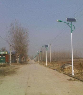 蓬莱6米太阳能路灯