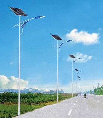 蓬莱6米30瓦太阳能路灯